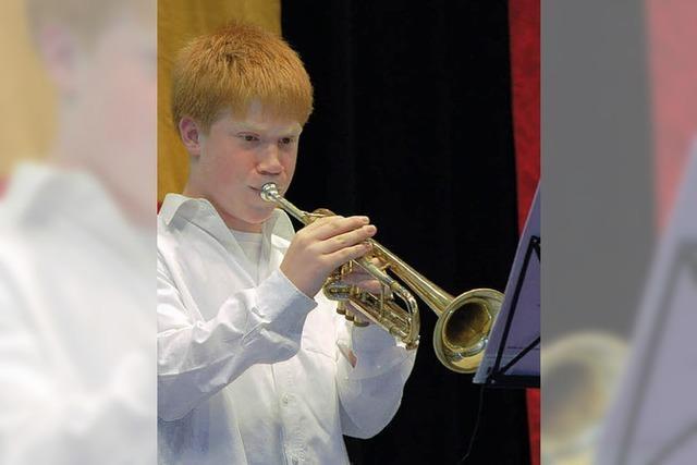Junge Musiker lassen bestens von sich hören