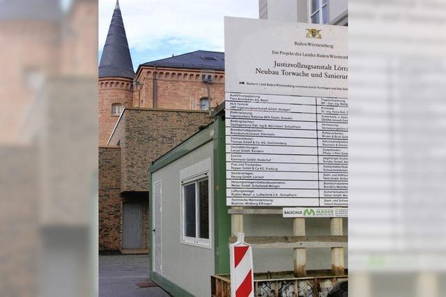 Modernisierung der Lörracher JVA kurz vor Abschluss