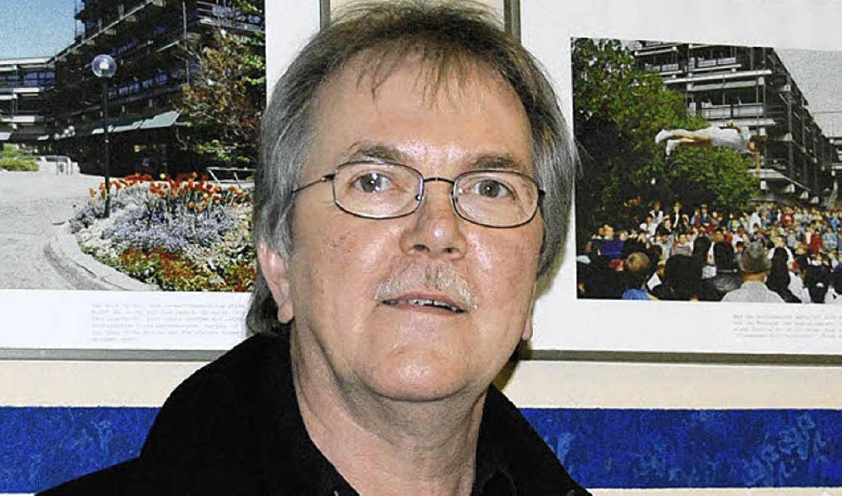 Rektor Karlfrieder Schmidt ist optimistisch.  | Foto: Ralf Staub
