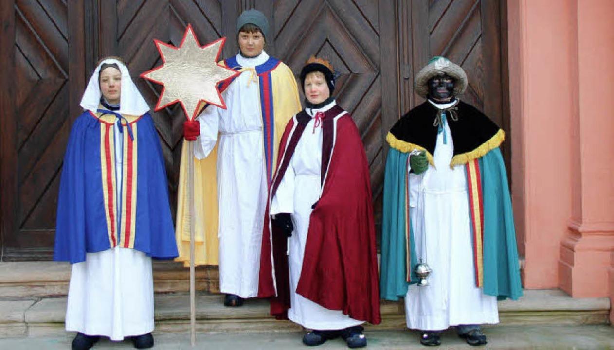 Auch an der Pforte des Klosters St. Tr...n und waren dort gern gesehene Gäste.     Foto: Eberhard Gross