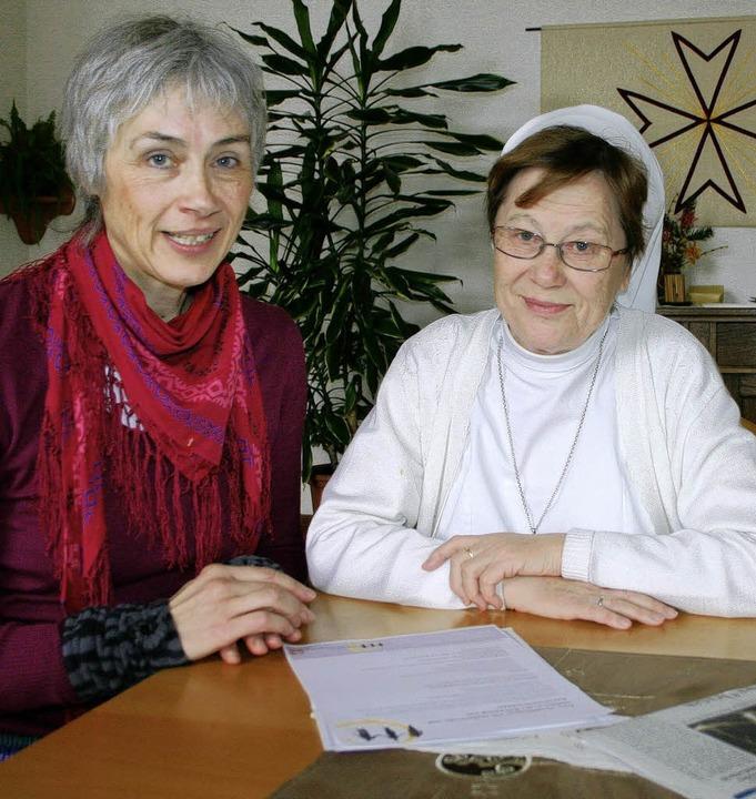Vinzentinerinnen-Schwester Oberin Elis...ine Demenzbetreuungsgruppe zu öffnen.     Foto: Sabine Model