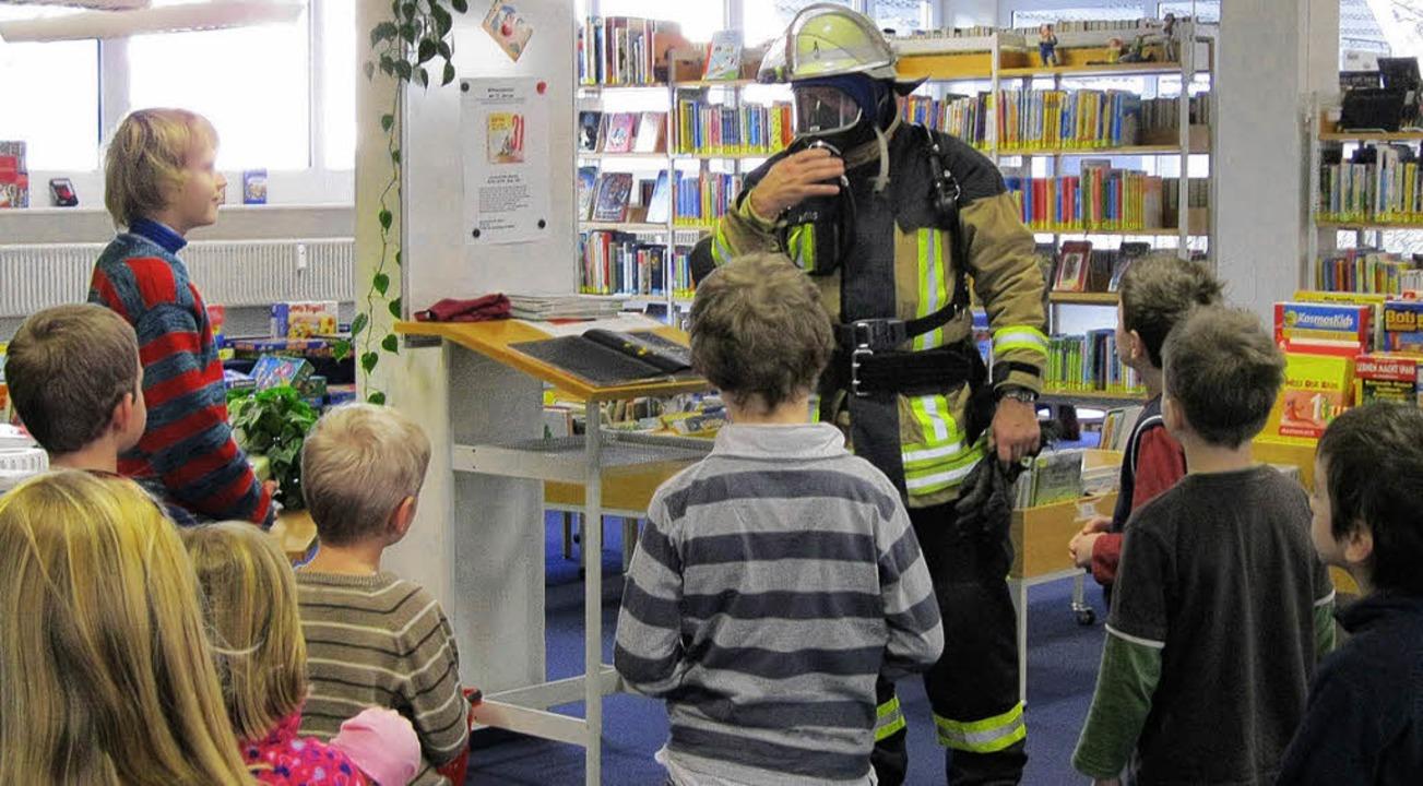 Heinz Weiss weiß, wie man Kinder begeistern kann.   | Foto: Britta Herzog