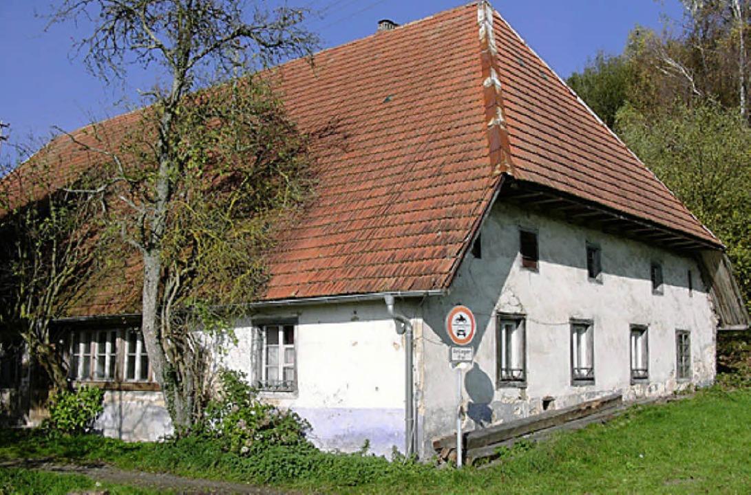 Erhaltenswert: das Zechenwihler Hotzenhaus   | Foto: Richard Kaiser