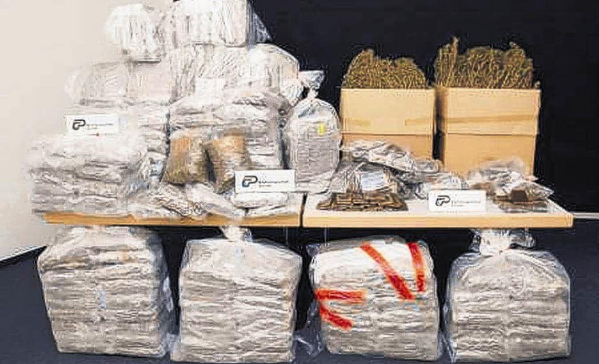 Cannabis bleibt der bevorzugte Stoff i...auch Amphetamine, Kokain und Ecstasy.     Foto: BZ