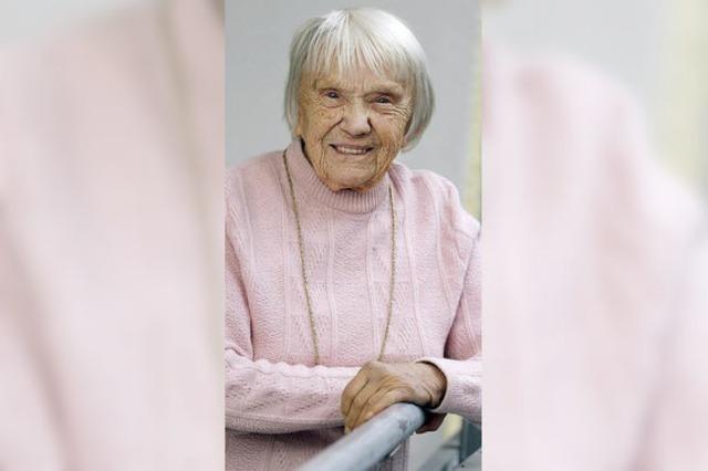 Offenburgs älteste Einwohnerin wird heute 104