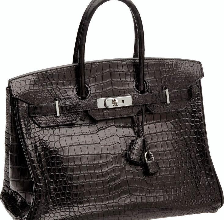 Die versteigerte Birkin Bag     Foto: Heritage Auctions