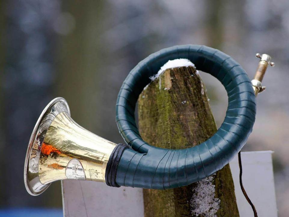 … Symbol der Jagd.  | Foto: Wolfrum
