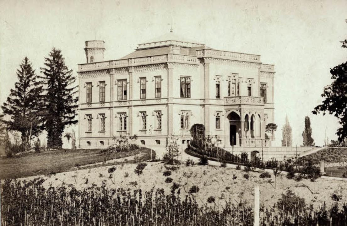 Seit 150 Jahren steht das Colombischlö...m Jahr 1861 erfolgten Fertigstellung.   | Foto: Augustinermuseum (2) / Thomas kunz