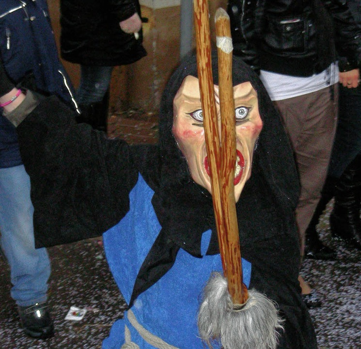 Hexe mit furchterregendem Blick  | Foto: Mario Schöneberg