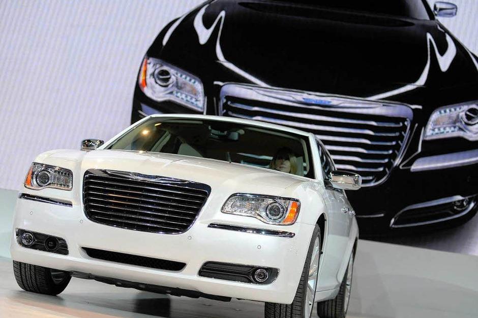 Der neue Chrysler 300 (Foto: dpa)
