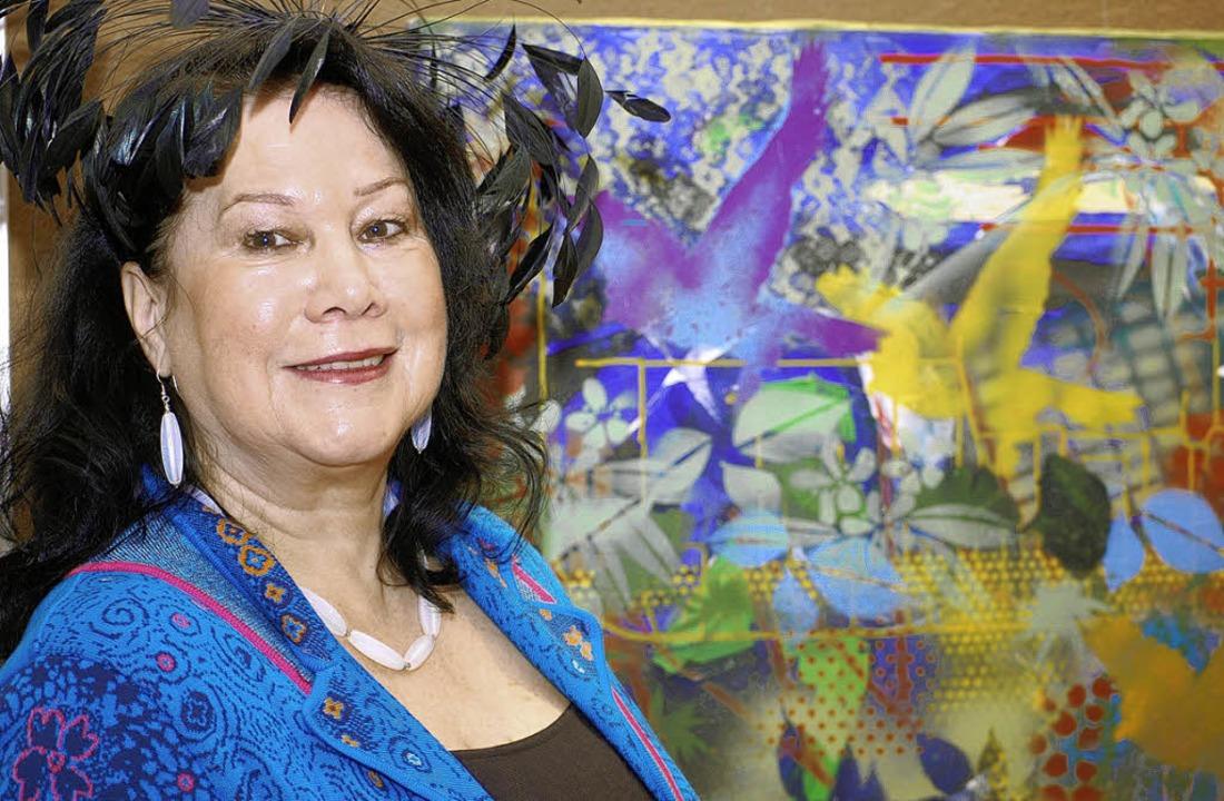 Eine der Mitwirkenden: Ann-Marie Heinzelmann   | Foto: renate tebbel