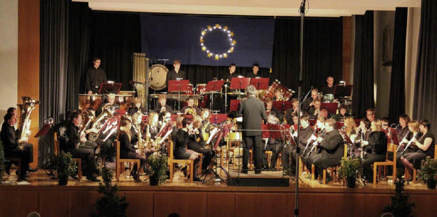 Wunderschöne Melodien verzauberten das...nigskonzert der Musikkapelle Kollnau.   | Foto: Stefanie Sigmund