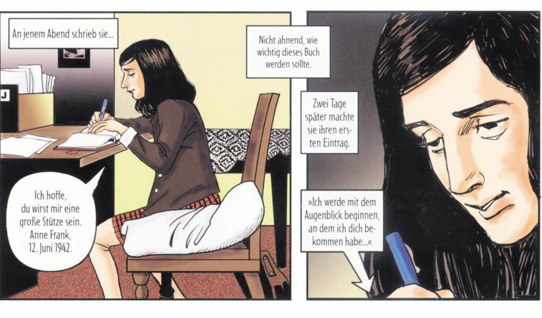 Am 12. Juni 1942 begann Anne Frank Tagebuch zu schreiben.   | Foto: Verlag
