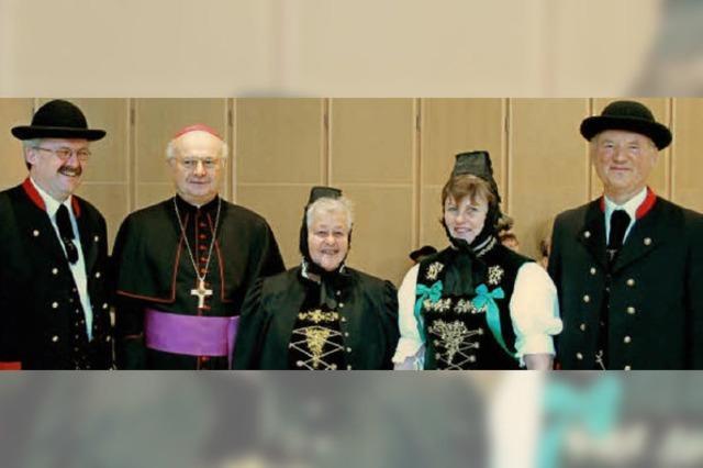 Audienz beim Erzbischof