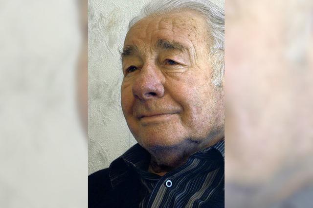 Der Vater des Isteiner Brunnenstubenhocks feiert 80. Geburtstag