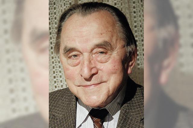 Alfred Schneider wird heute 80