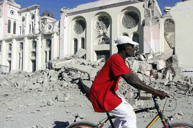 EU besorgt über Lage in Haiti