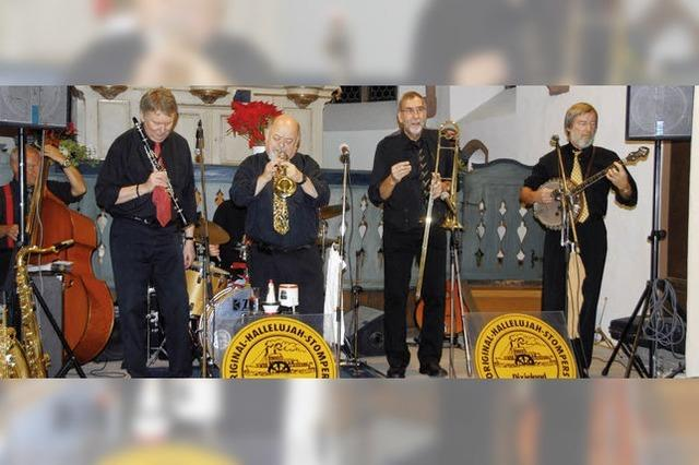 Ein mitreißender Dixie- und Jazzabend mit Vollblutmusikern