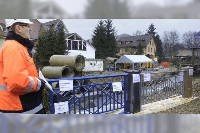 Hochwasserschutz lässt kaum Spiel