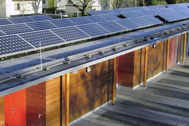 Bürger steigen für Solaranlagen der Stadt aufs Dach