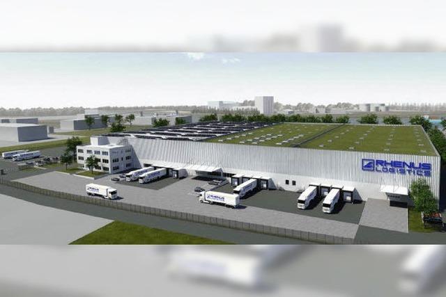 Logistikzentrum mit Gütesiegel