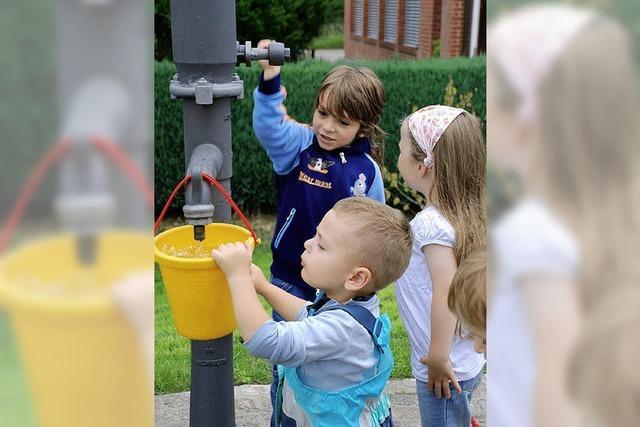 Kindergärten richten sich neu ein
