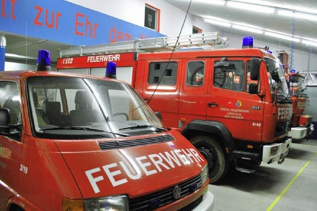 Feuerwehrgarage zu niedrig