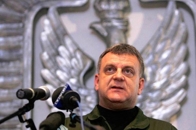 Russland: Polens Luftwaffenchef hat Absturz verursacht