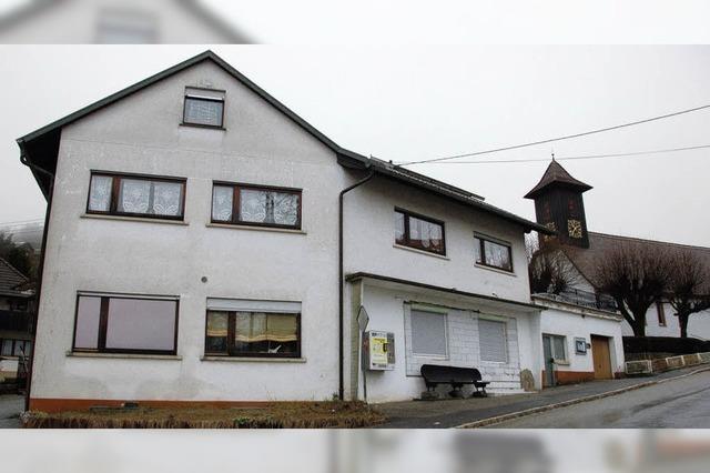 Haus des Dorfladens wird versteigert