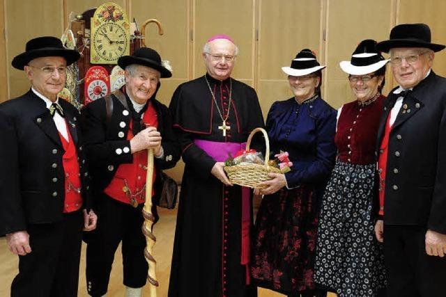 Uhrenträger beim Bischof