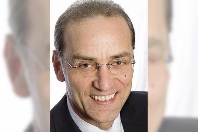 Bernhard Fehrenbach will Bürgermeister werden