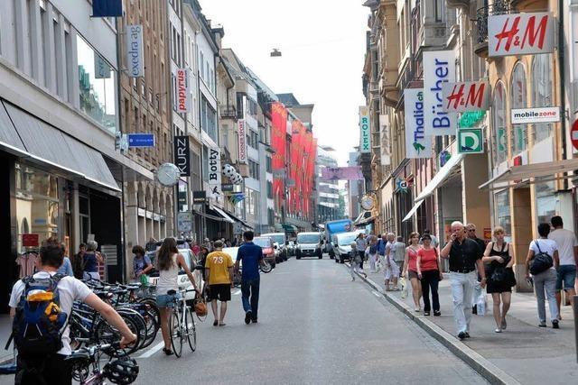 Basels Innenstadt wird autofrei