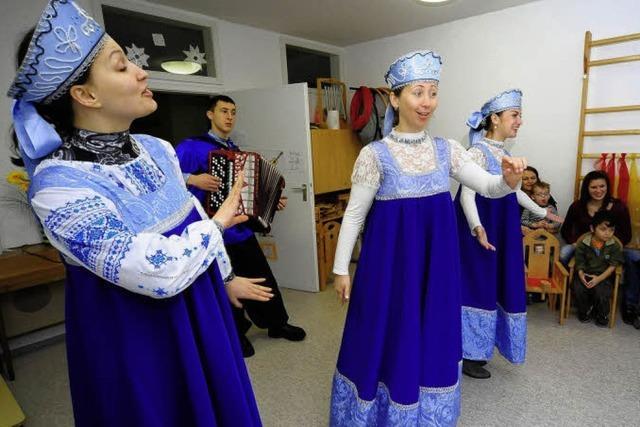 Folklore im Kindergarten