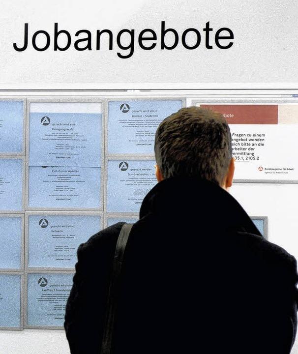 Es gibt wieder Auswahl bei den Jobangeboten.    Foto: dpa