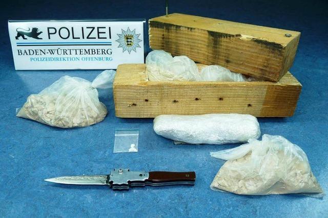 Offenburger Polizei schnappt drei Drogenkuriere