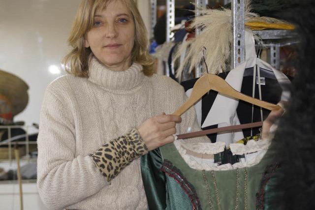 Elke Weth – Frontfrau im Kostümverleih