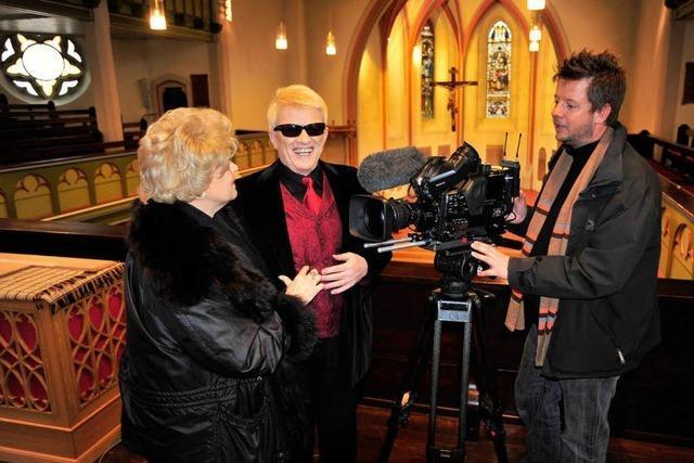 In geheimer Mission: Heino singt in Emmendinger Kirche