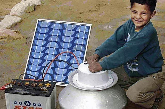 Solarleuchten und Trommeltrockner