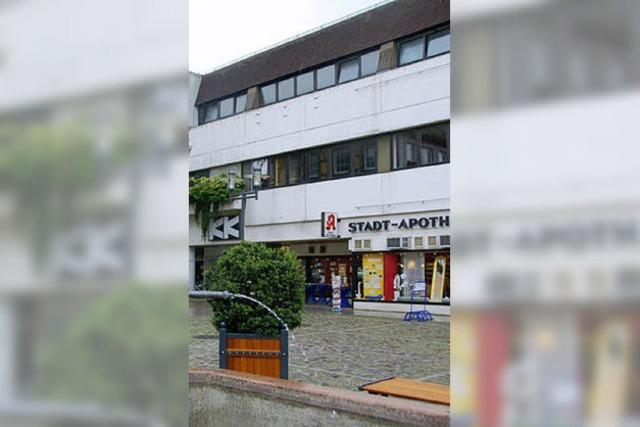 Fassade des Kaufhauses wird erneuert