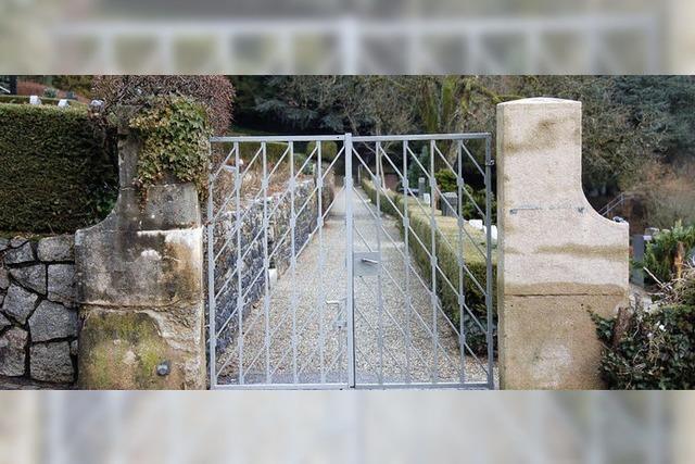 Europäische Regeln auch für Friedhof