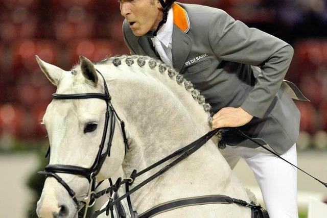 Millionenteure Pferde bei Springturnier in Basel am Start