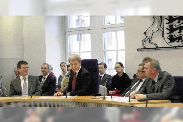 2010 Mangel an Richtern