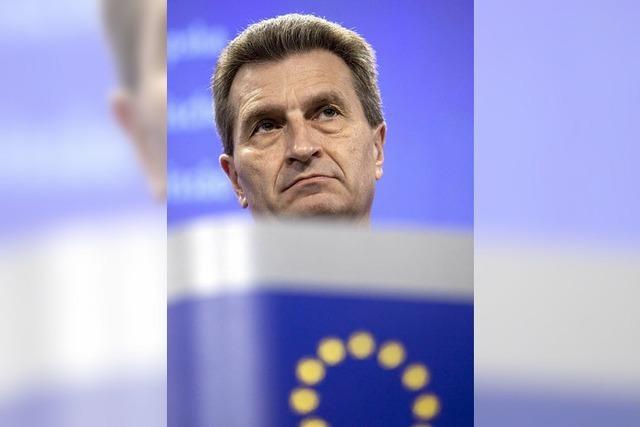 Oettinger schlägt sich wacker
