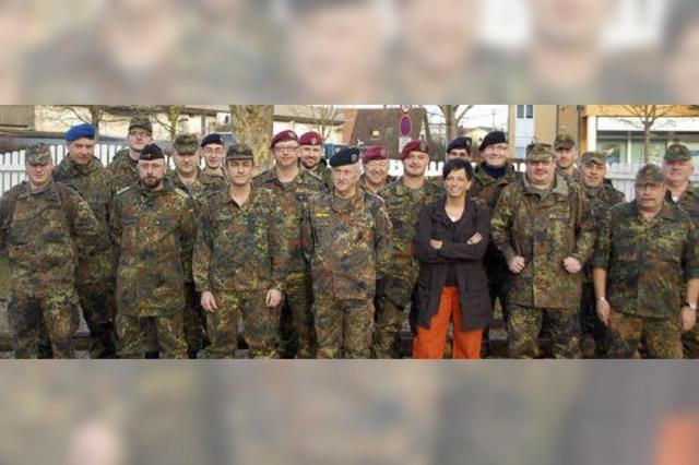 Bundeswehr-Reservisten wollen ein deutliches Zeichen setzen