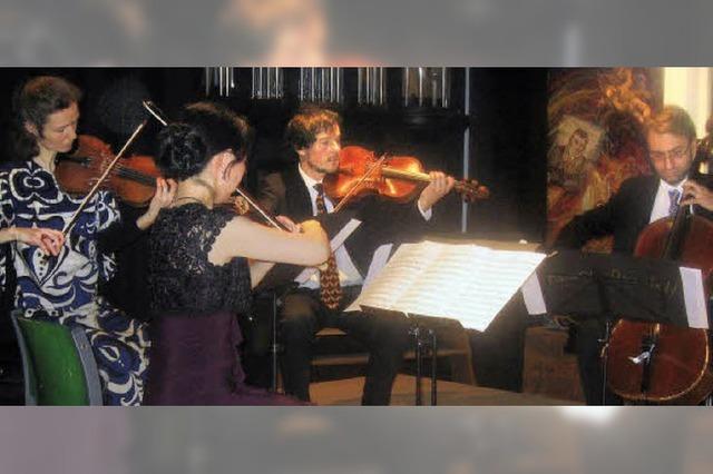 Erfüllt von der Dichte und Klangschönheit klassischer Kompositionen