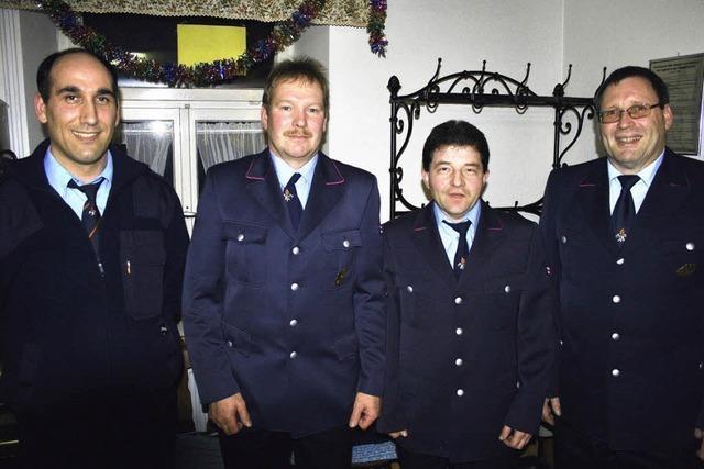 Kürnbergs Feuerwehr feiert das 75-jährige Bestehen