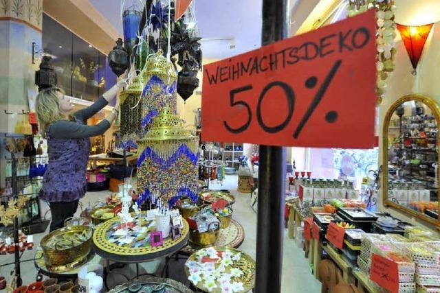 Ladenwechsel in der östlichen Altstadt