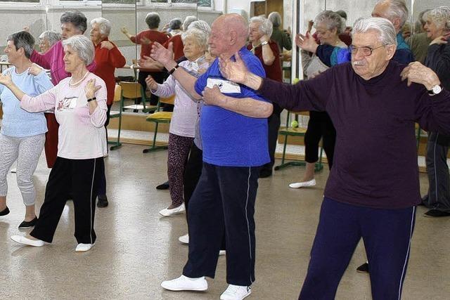 Senioren kommen gerne zum Tanz