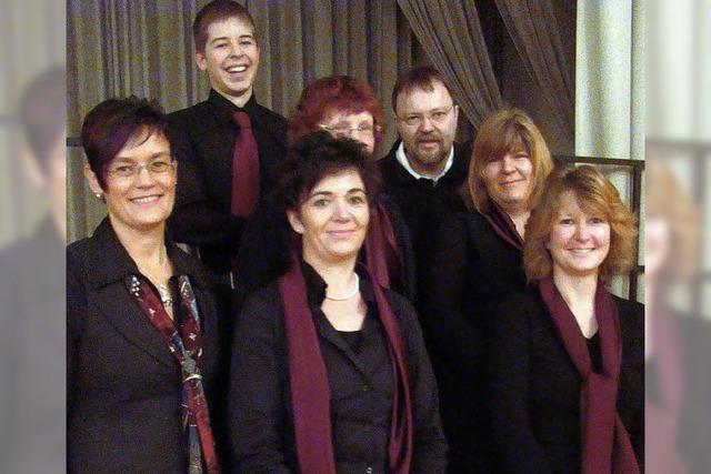 Sänger begrüßen sieben neue Mitglieder