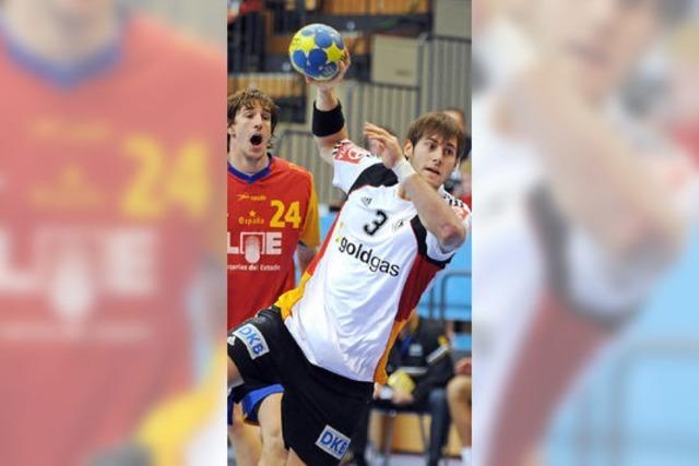 Handballer verlieren gegen Spanien nur knapp